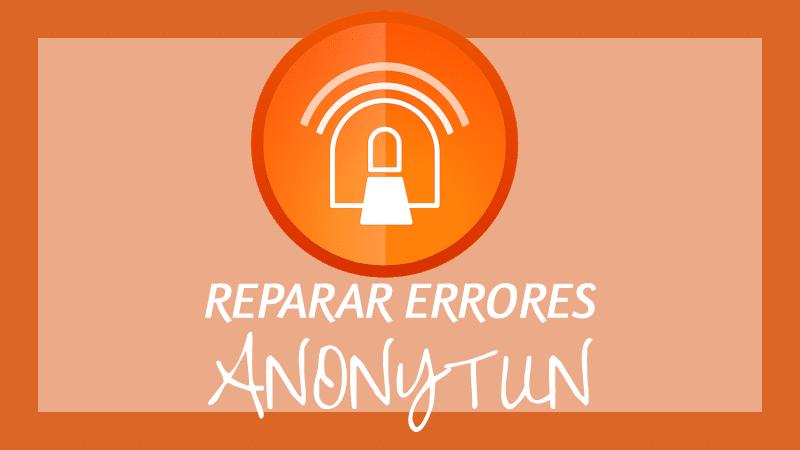 anonytun no conecta error vpn personal