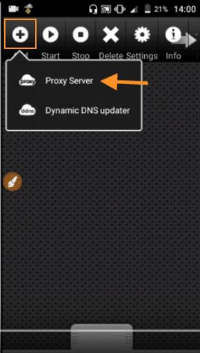 configurar proxy server anonytun compartir internet