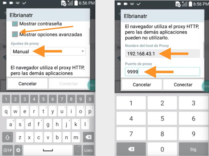 como configurar wifi anonytun compartir internet