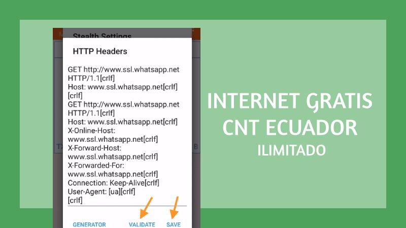 anonytun cnt configuraciones
