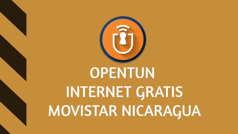 opentun movistar internet gratis
