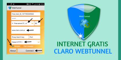 conectar webtunnel claro